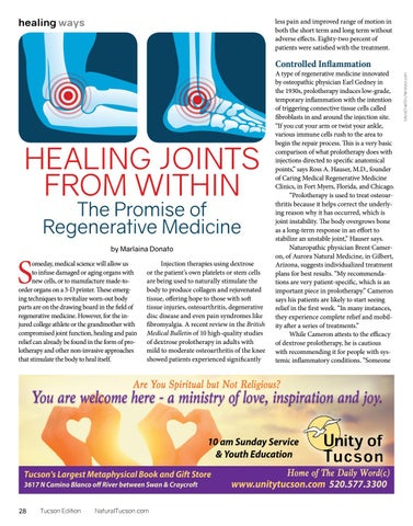Page 28 of HEALING JOINTS