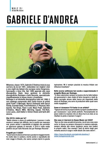 Page 22 of MALE DJ: GABRIELE D'ANDREA