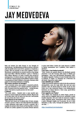 Page 23 of Female DJ: JAY MEDVEDEVA