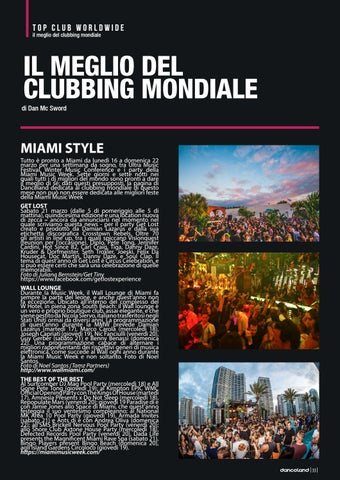 Page 33 of TOP CLUB WORLDWIDE: MIAMI