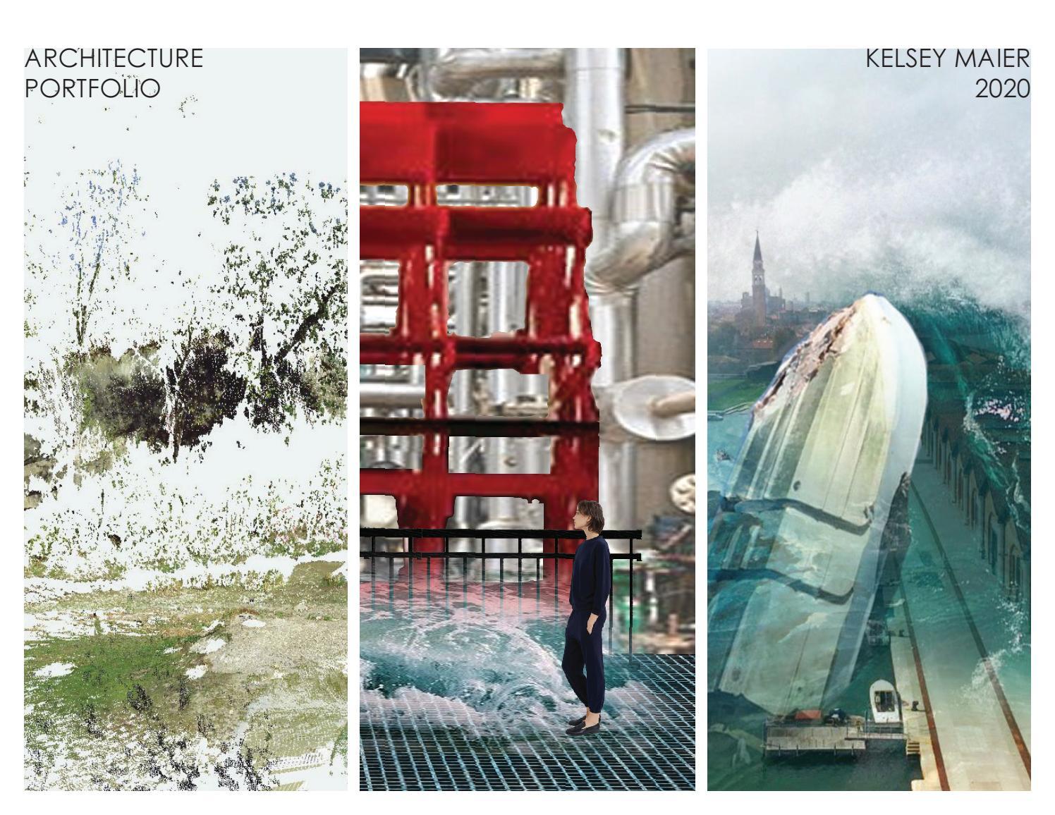 Undergraduate Architecture Portfolio By Kelsey Maier
