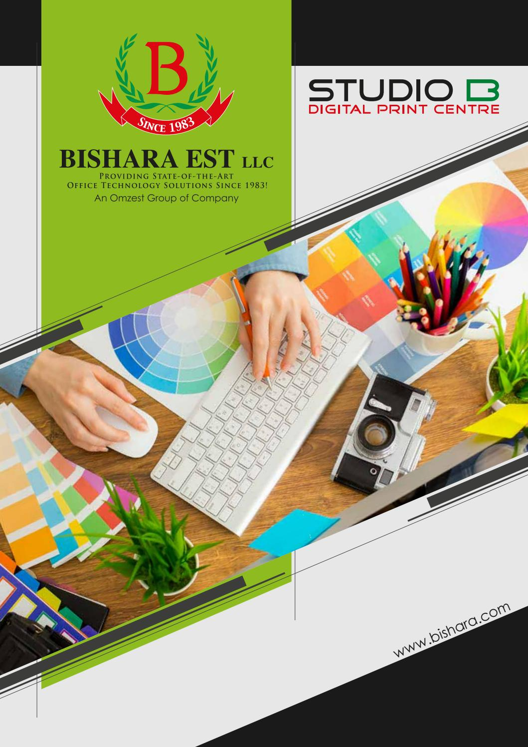 Studiob Brochure 2020 By Bishara Est Llc Studiob Issuu