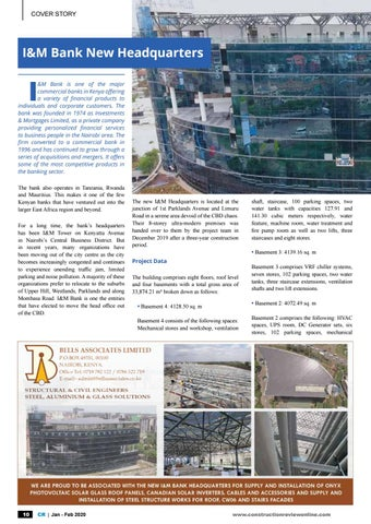 Page 12 of I&M Bank new headquaters