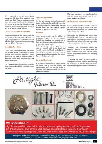 Page 19 of Kitchen: Choosing quarts to modernize your kitchen worktop
