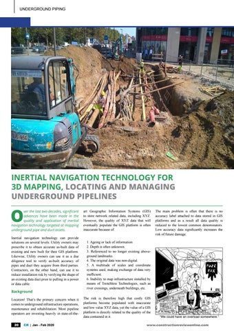 Page 22 of locating and managing underground pipelines