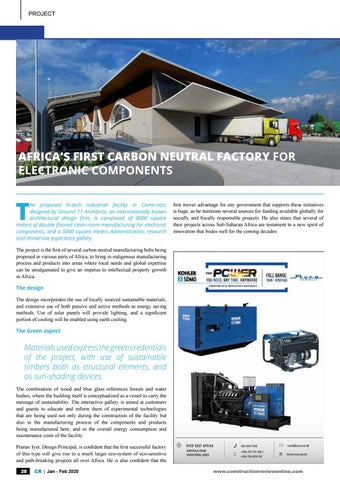 Page 30 of Project: Africa's first carbon neutral factory for electronic components