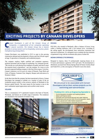 Page 35 of Profile: Exciting projects by canaan developers