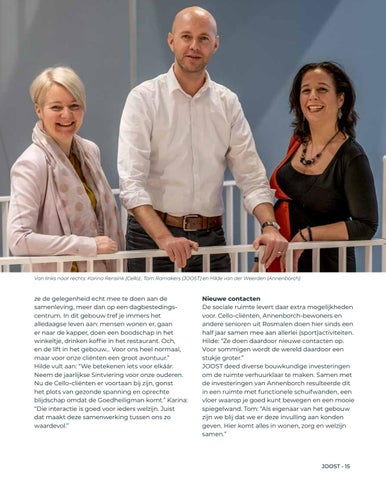 Page 15 of Interview met samenwerkingspartners Cello en Annenborch