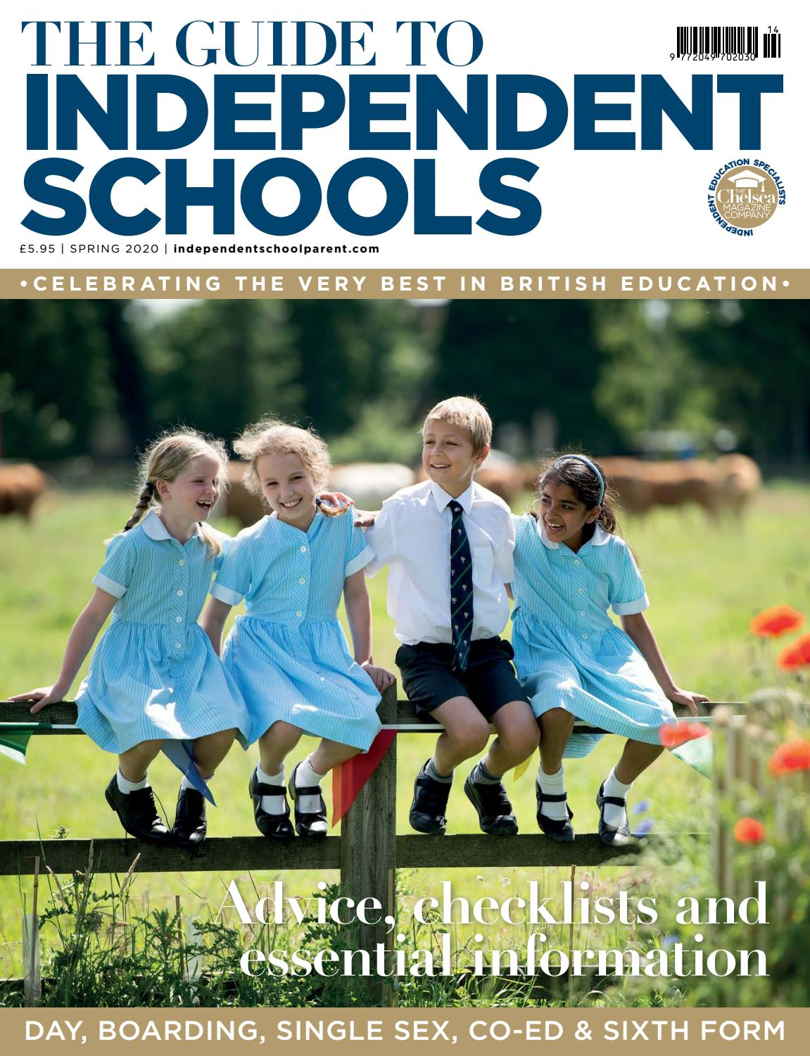 Independent School Parent Spring School Guide 2020 By The Chelsea Magazine Company Issuu