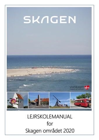 Lejrskolemanual 2020 For Skagen Omradet By Turisthus Nord Issuu