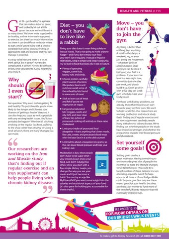 Update Magazine Spring 2019 By Kidney Research Uk Issuu
