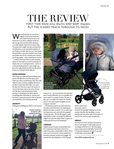 Page 51 of In her latest instalment, our columnist Jakki Jokes and her growing bump head to Paris for a family weekend TOT GEAR NEWS