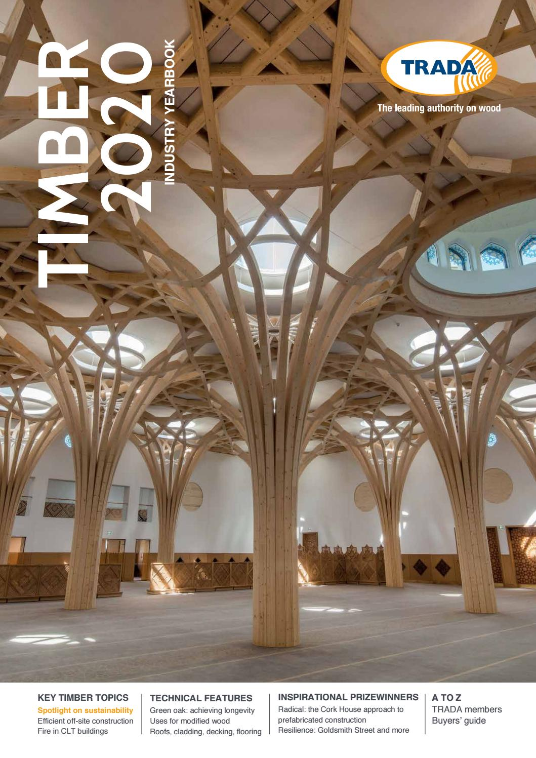 Trada Timber Industry Yearbook 2020 By Open Box Media Communications Issuu
