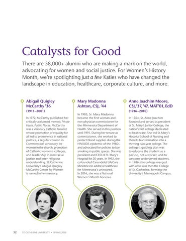 Page 34 of Catalysts for Good
