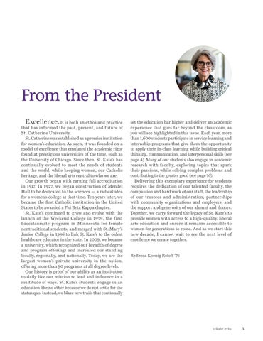 Page 5 of FROM THE PRESIDENT