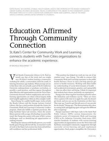 Page 7 of Education Affirmed Through Community Connection