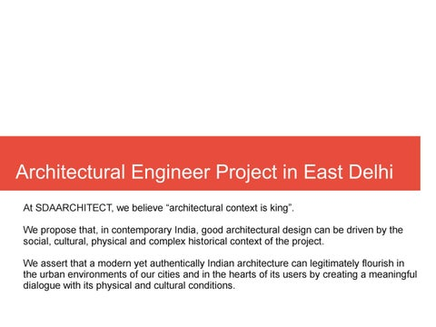 Architectural Engineer Project In East Delhi By Interior Designer Companies In Ncr Issuu