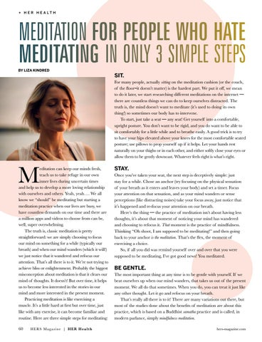 Page 60 of Three-Step Meditation
