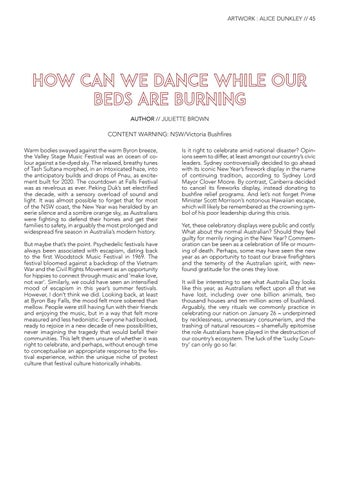 Page 47 of How Can We Dance While Our Beds Are Burning? Juliette Brown