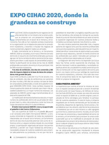 Page 8 of EXPO CIHAC 2020, donde la grandeza se construye
