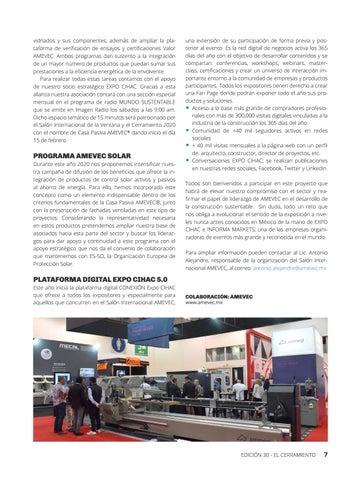 Page 9 of EXPO CIHAC 2020, donde la grandeza se construye