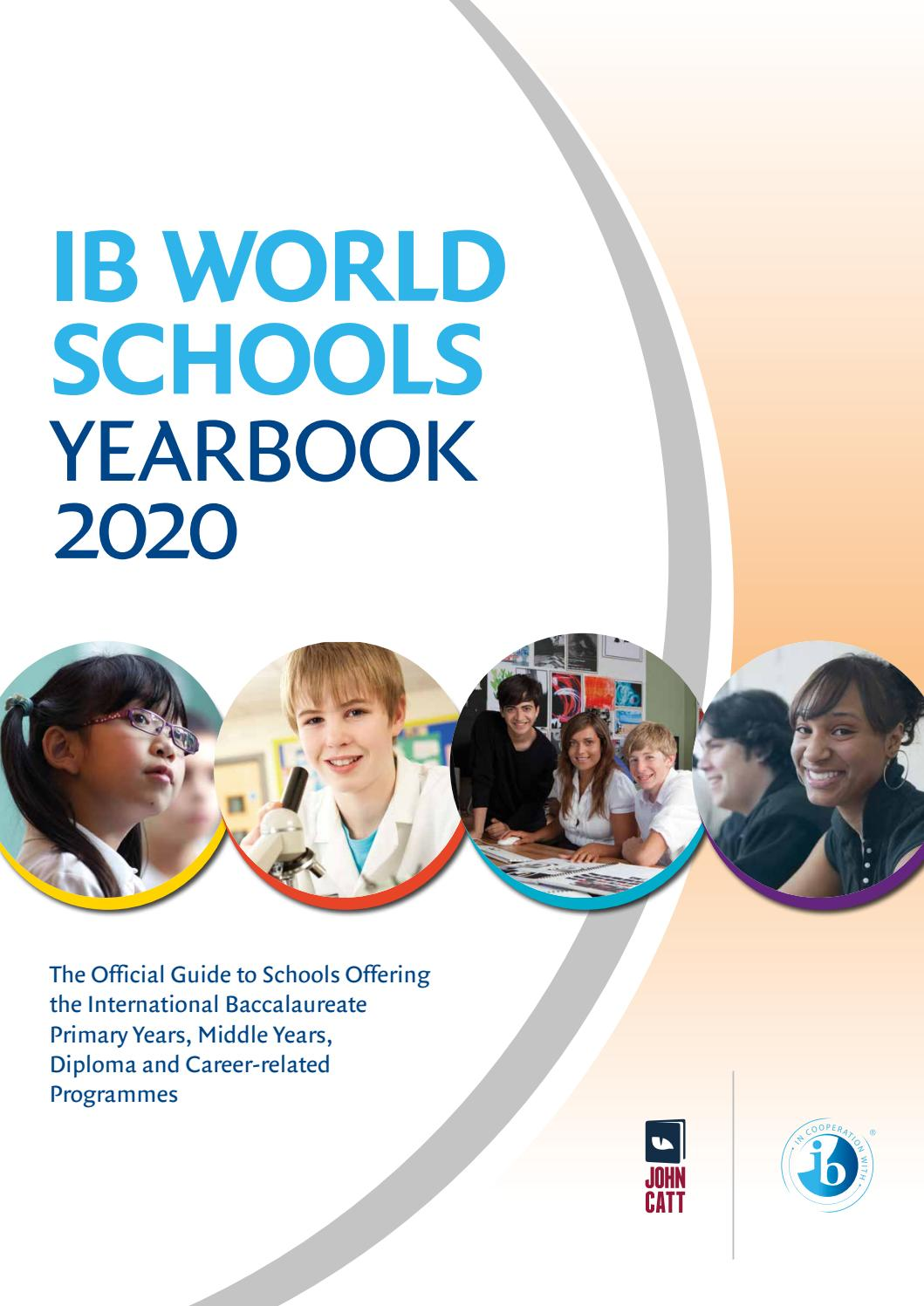 IB World Schools Yearbook 2020 By John Catt Educational Issuu