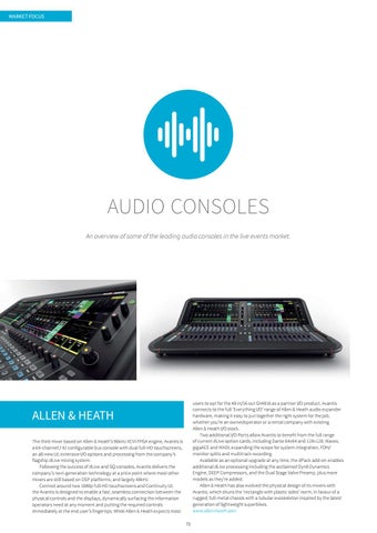 Page 72 of AUDIO CONSOLES