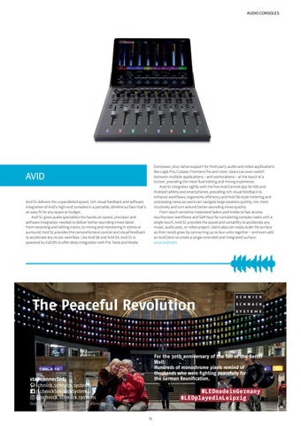 Page 73 of AUDIO CONSOLES