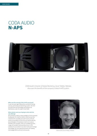 Page 86 of CODA AUDIO N-APS