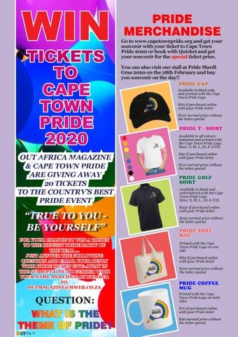 Page 34 of Win Tickets To Cape Town Pride 2020