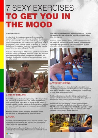 Page 40 of Exercises to get you in the Mood