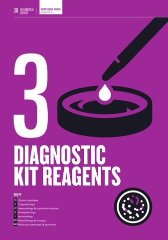 Page 30 of Diagnostic kit reagents