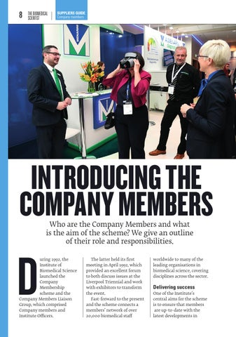 Page 8 of Introducing the Company Members