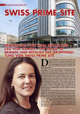 Page 41 of SWISS PRIME SITE