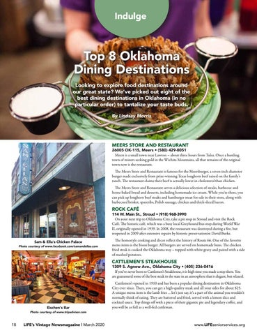 Page 18 of Top 8 Oklahoma Dining Destinations