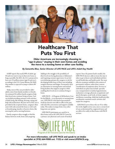 Page 34 of LIFE PACE