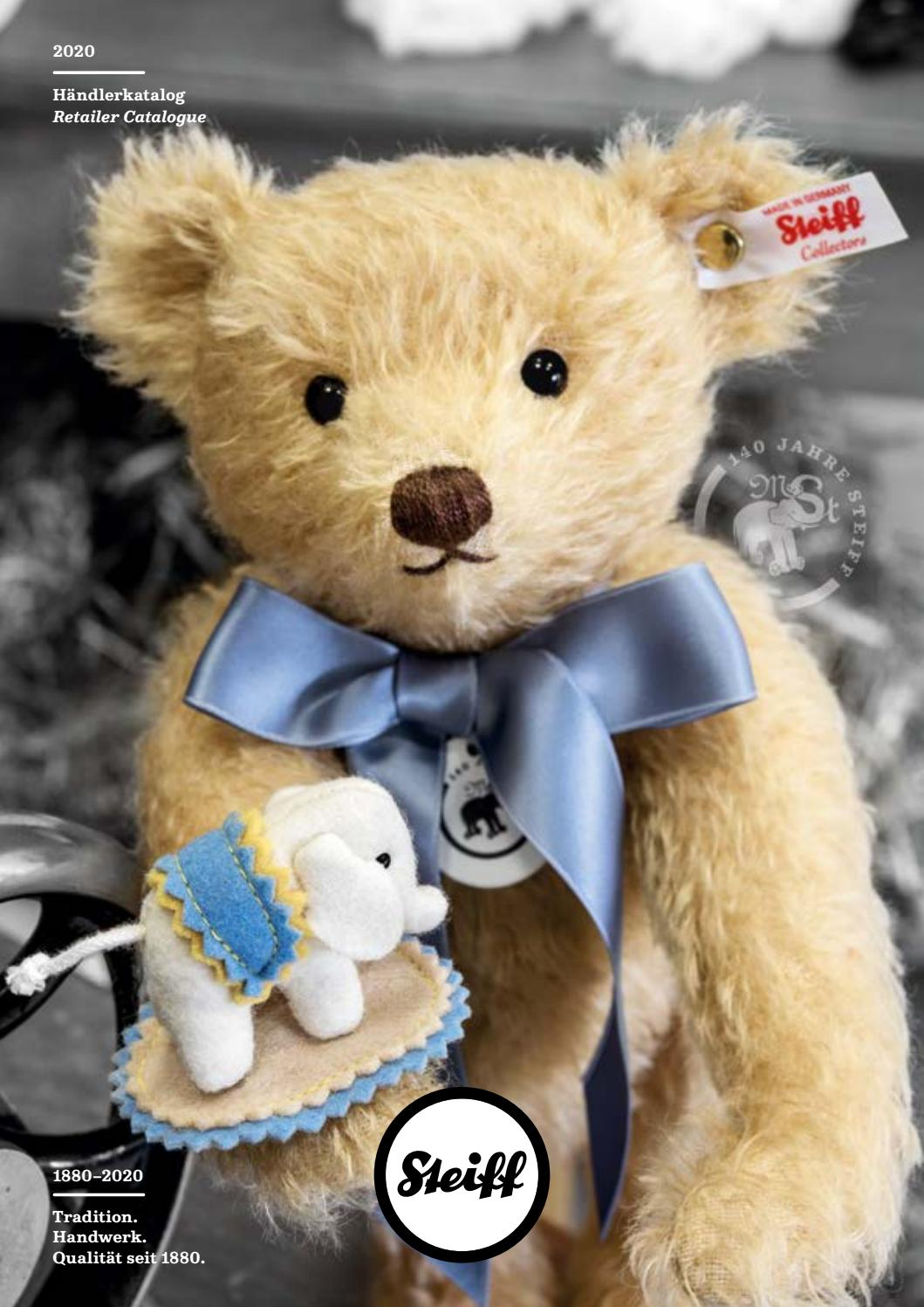 Lenni Teddy Bear In Suitcase Brand New /& Sealed Blond