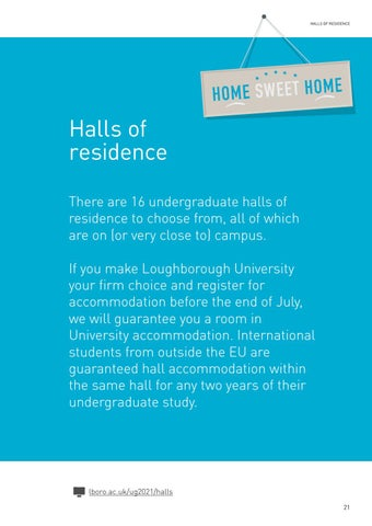Page 23 of Halls of residence