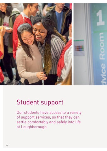 Page 42 of Student support