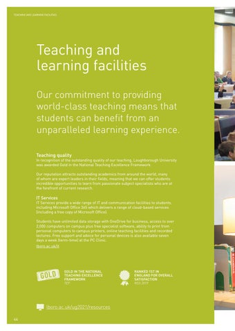 Page 46 of Teaching and learning facilities