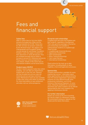 Page 55 of Fees and financial support