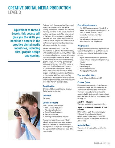 Page 39 of Creative Digital Media Production Level 3