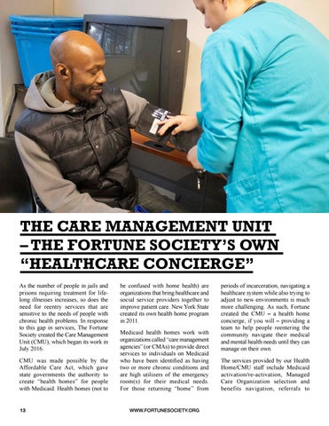 Page 16 of THE CARE MANAGEMENT UNIT