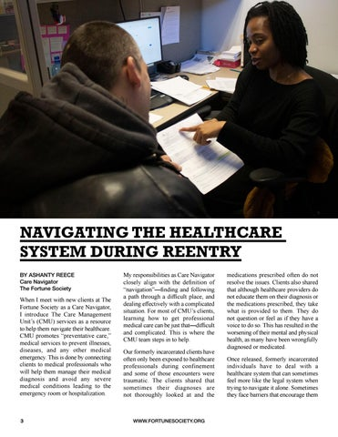 Page 6 of NAVIGATING THE HEALTHCARE SYSTEM DURING REENTRY
