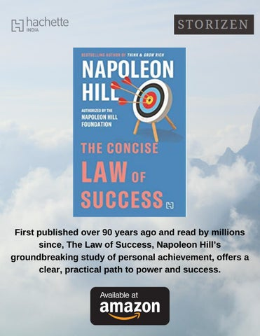 Page 35 of Hot Off the Press: The Concise Law of Success by Napoleon Hill