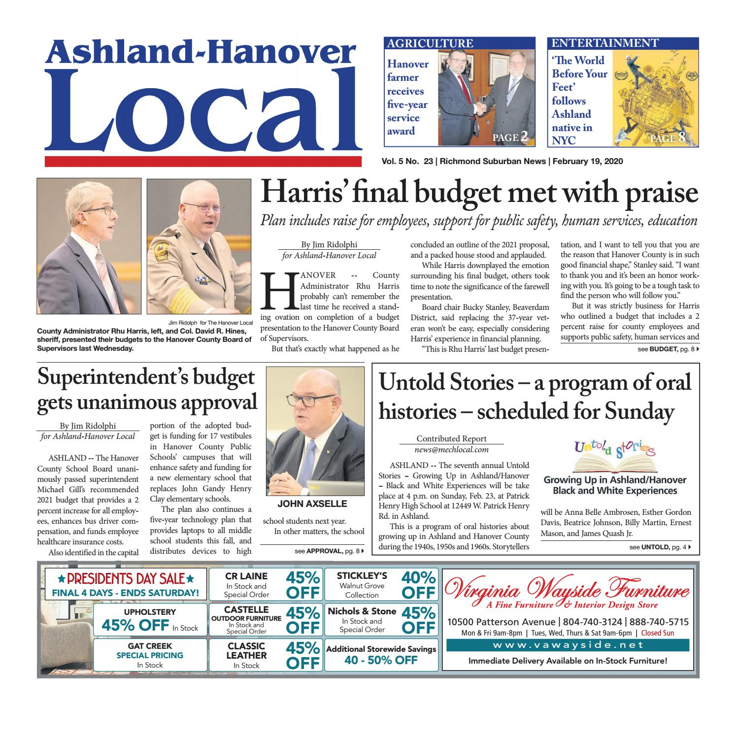 Ashland Hanover Local 02 19 20 By Ashland Hanover Local Issuu
