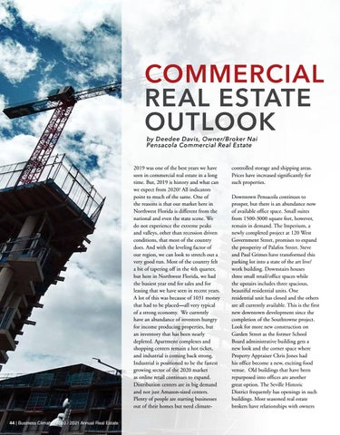 Page 44 of COMMERCIAL REAL ESTATE OUTLOOK