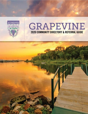 Grapevine Community 2020 Directory By Grapevine Chamber Of