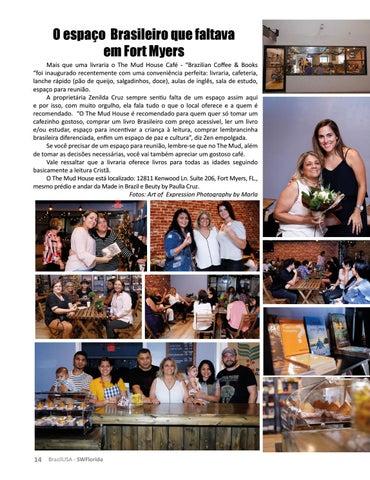 Page 14 of INAUGURAÇÃO THE MUD HOUSE BRAZILIAN COFFEE & BOOKS