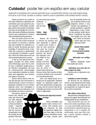 Page 22 of CUIDADO! PODE TER UM ESPIÃO EM SEU CELULAR